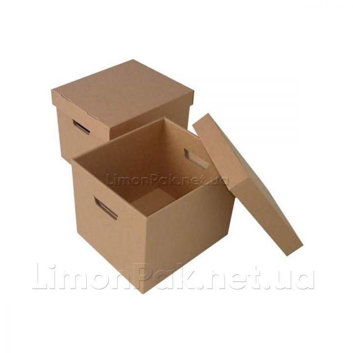 Коробка картонна 330*220*300 мм, з кришкою