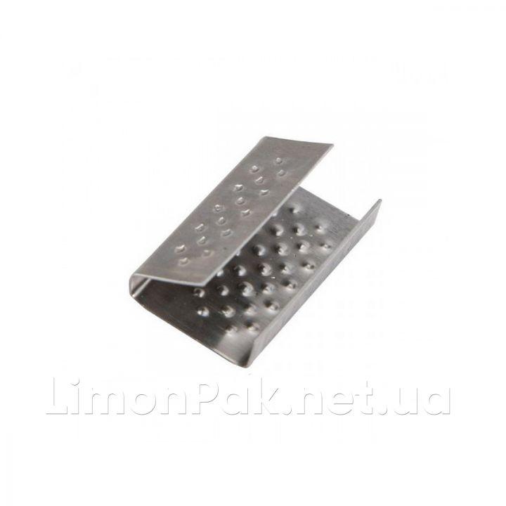 Скоба затискна (скріпка) 16 мм, 2500 шт