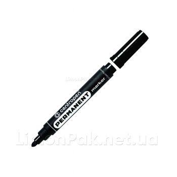 Маркер Сentropen Permanent 2.5мм, чорний (8566/01)